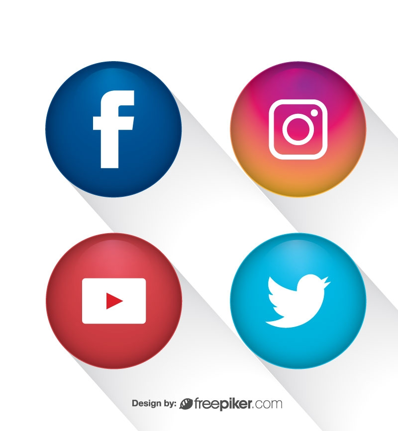 4 Social Networking Icon