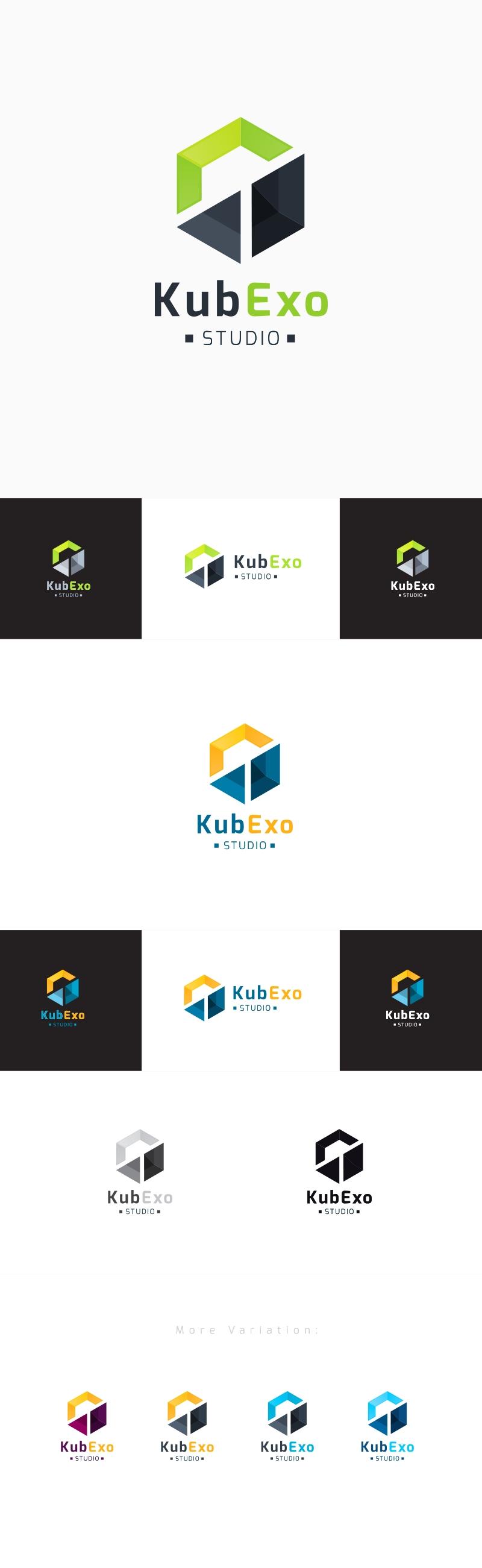 Abstract Creative Cube Logo | Kubex
