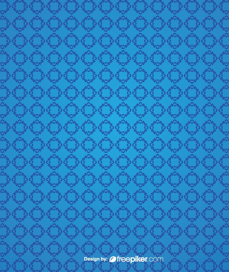 Abstract Geometric Pattern Blue Background