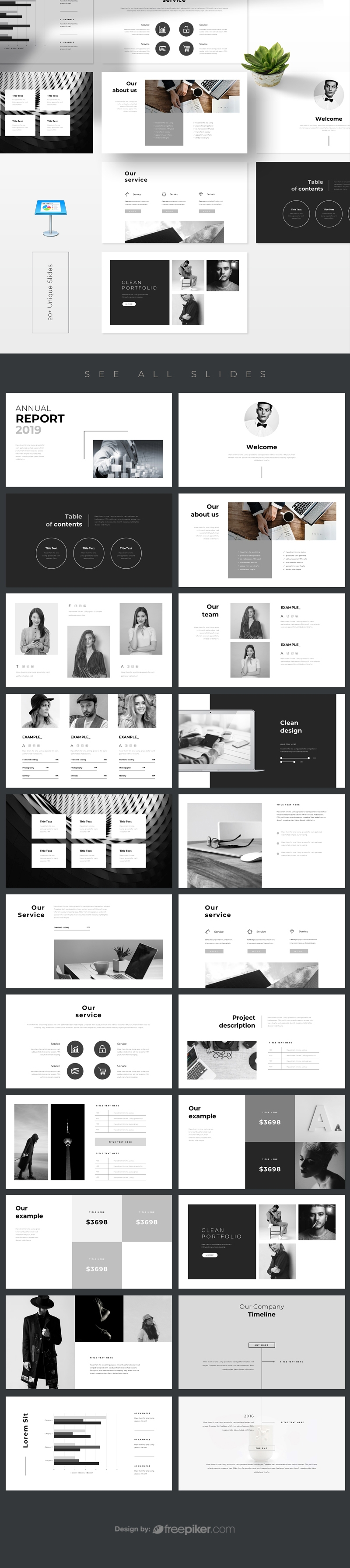 Annual Report 2019 Keynote Template