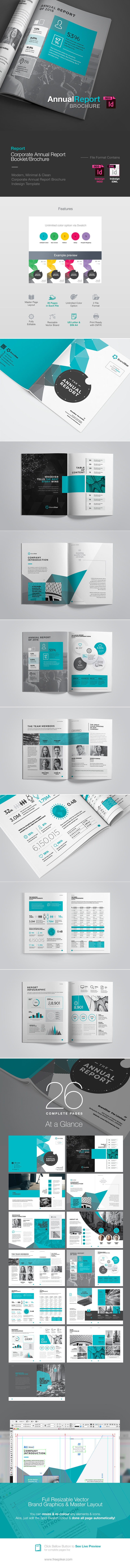 Annual Report Brochure / Booklet