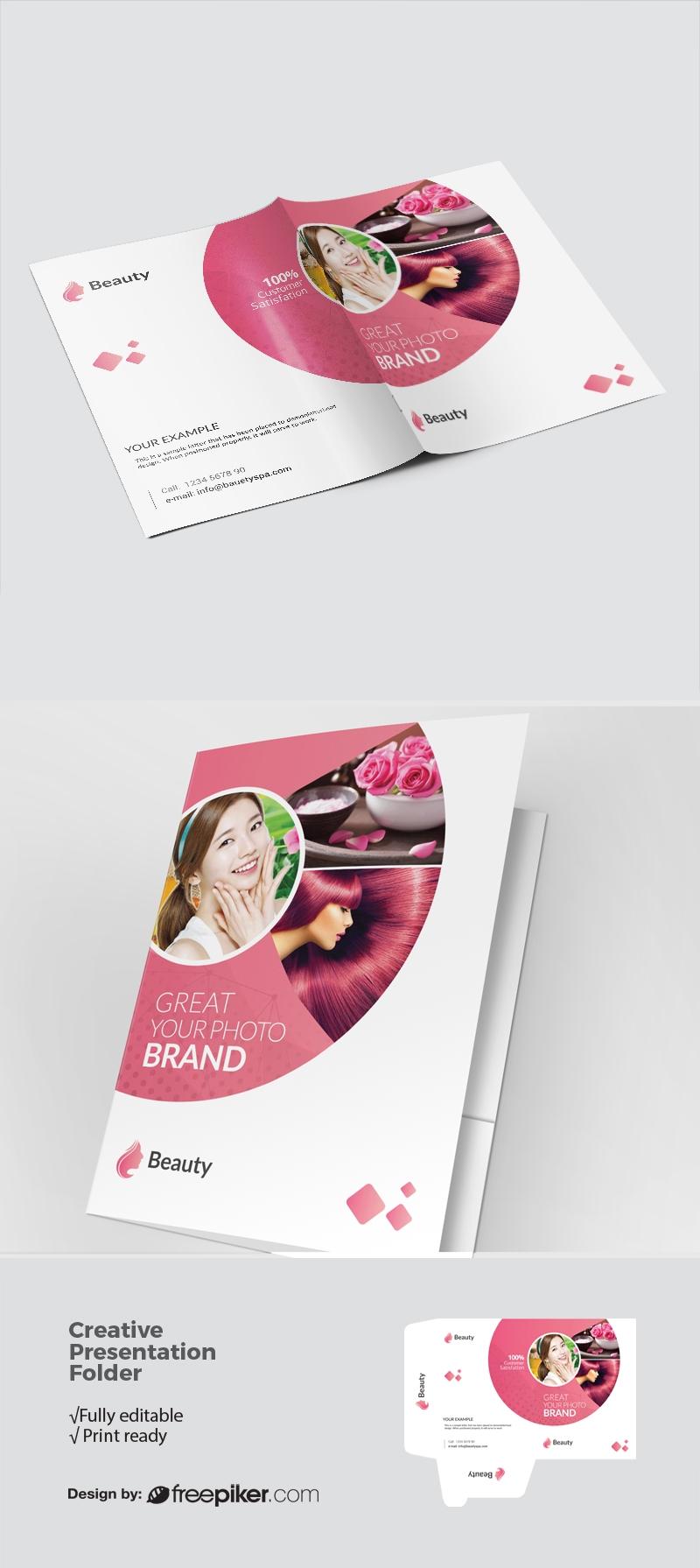 Beauty & Spa Presentation Folder