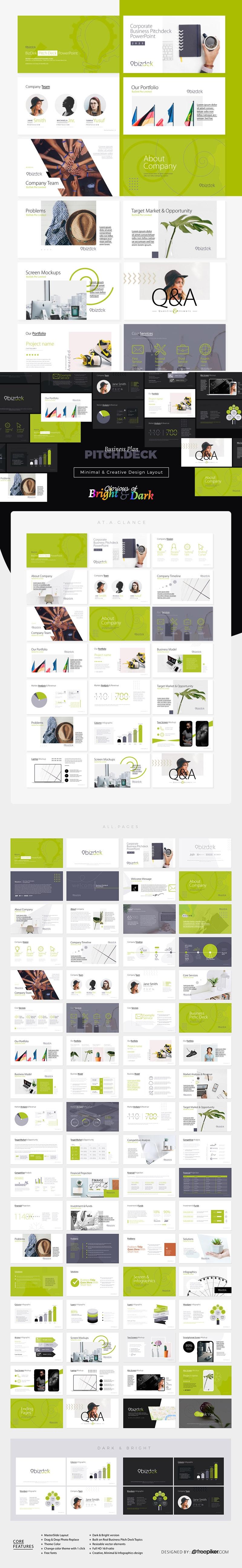 BizDek | Business Plan Pitch Deck PowerPoint