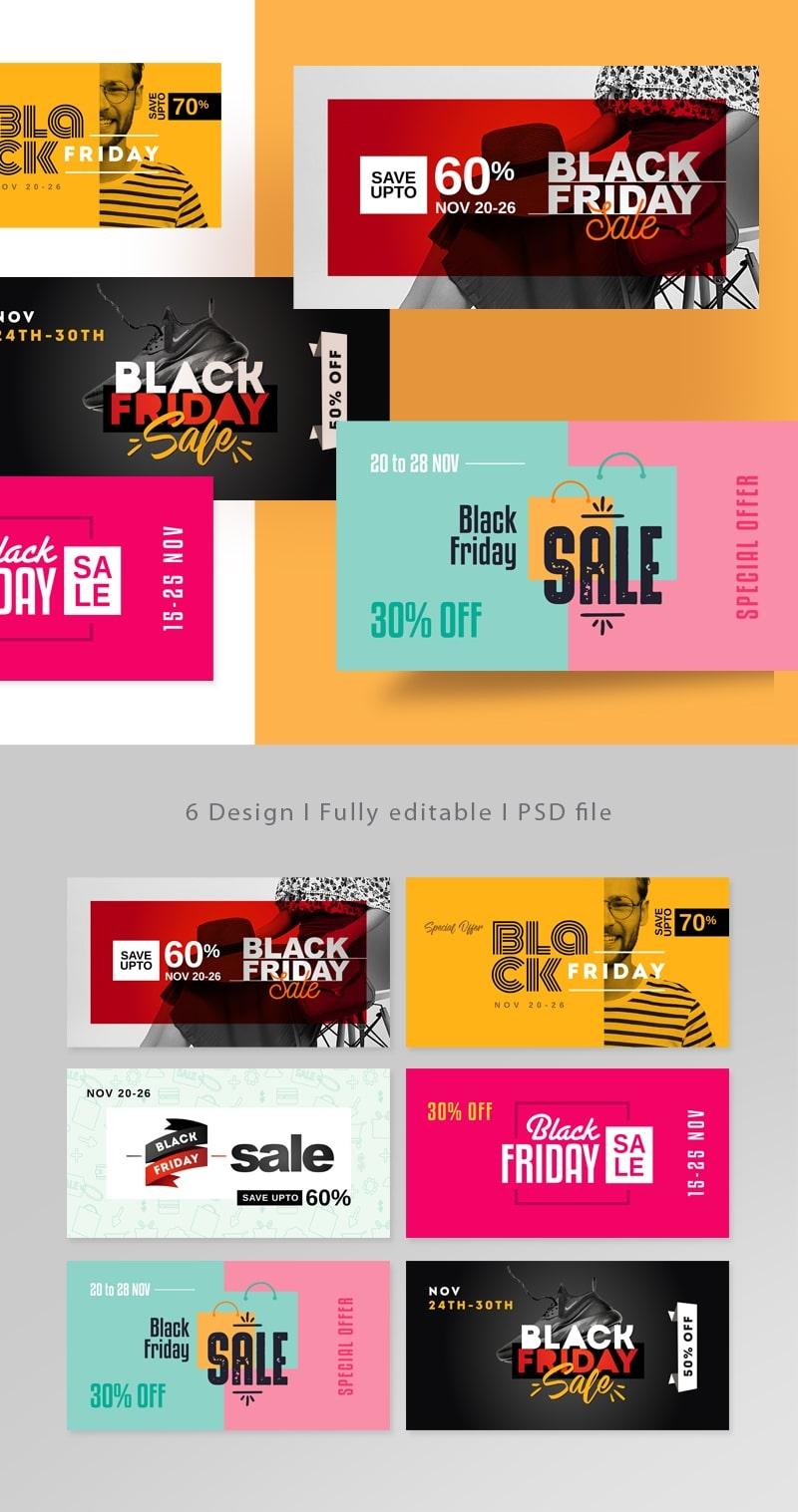 Black Friday Facebook Posting Cover Kit
