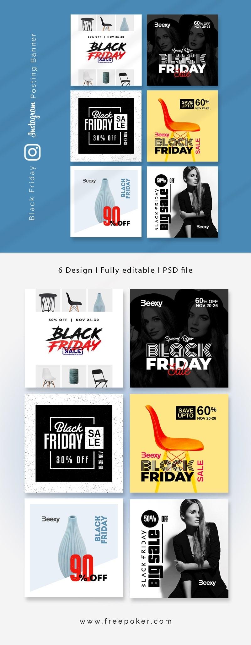 Black Friday Instagram Sale Promotion Booster Kit