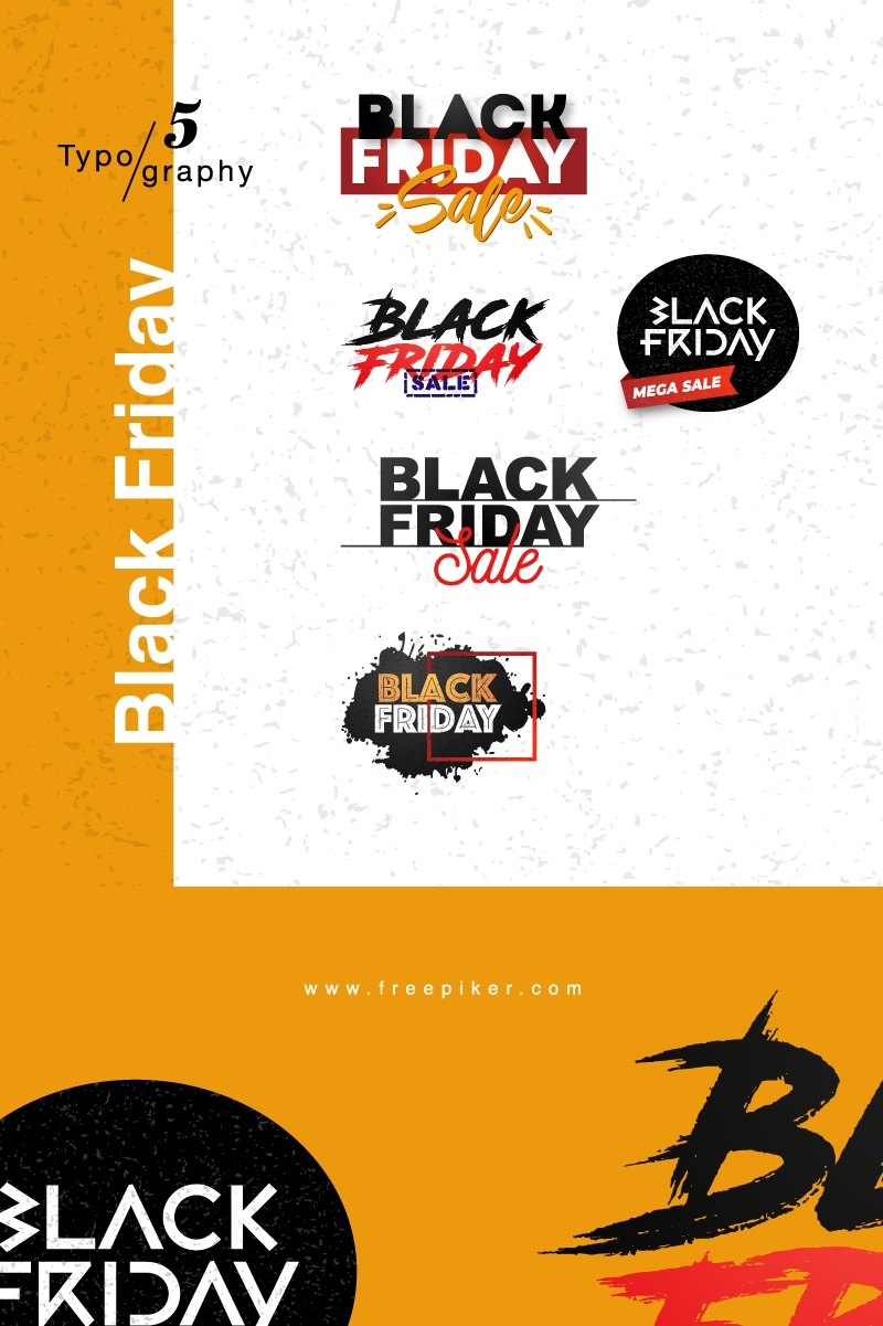 Black Friday Typography