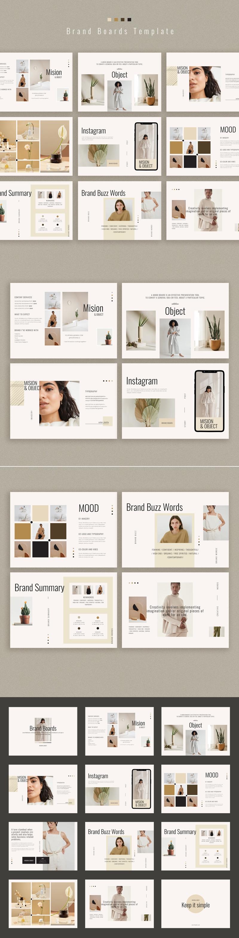 Brand Boards Template