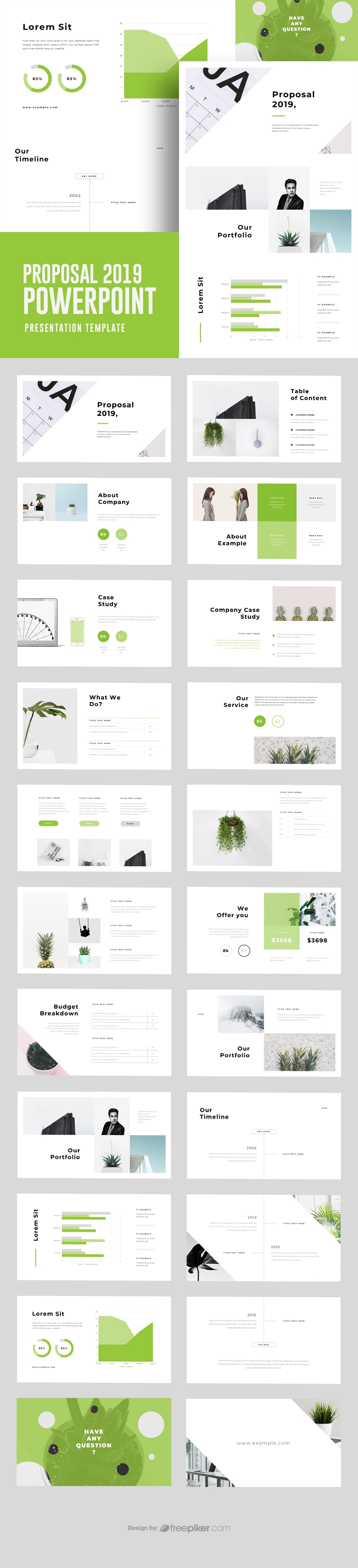 Business Proposal 2019 Powerpoint Template