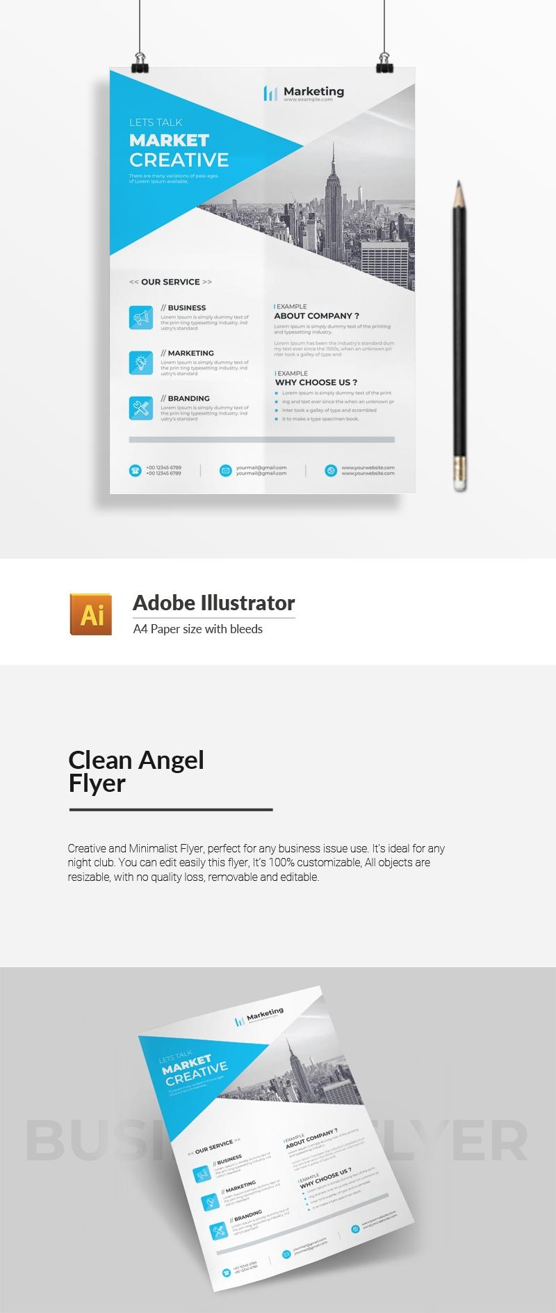 Clean Angel Flyer