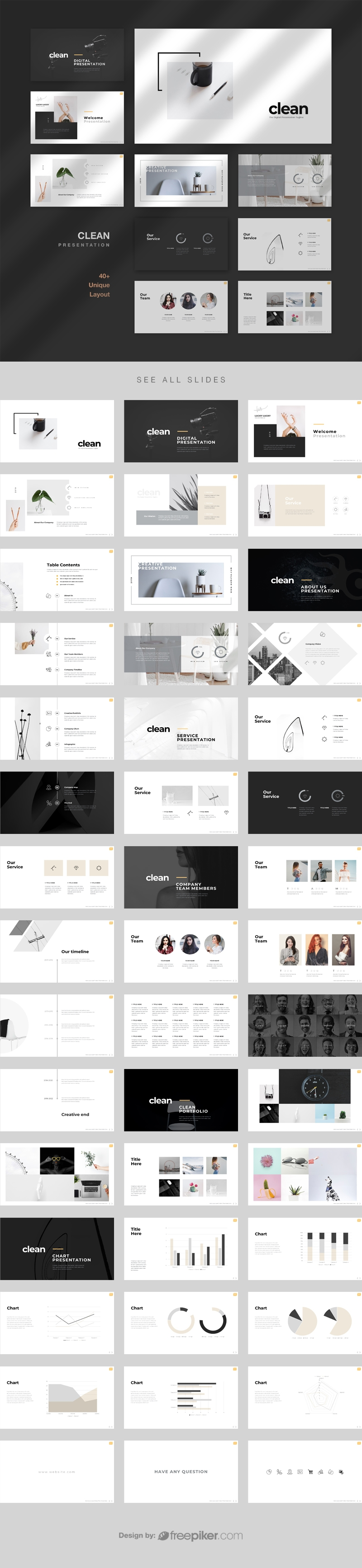 Clean Digital PowerPoint Template