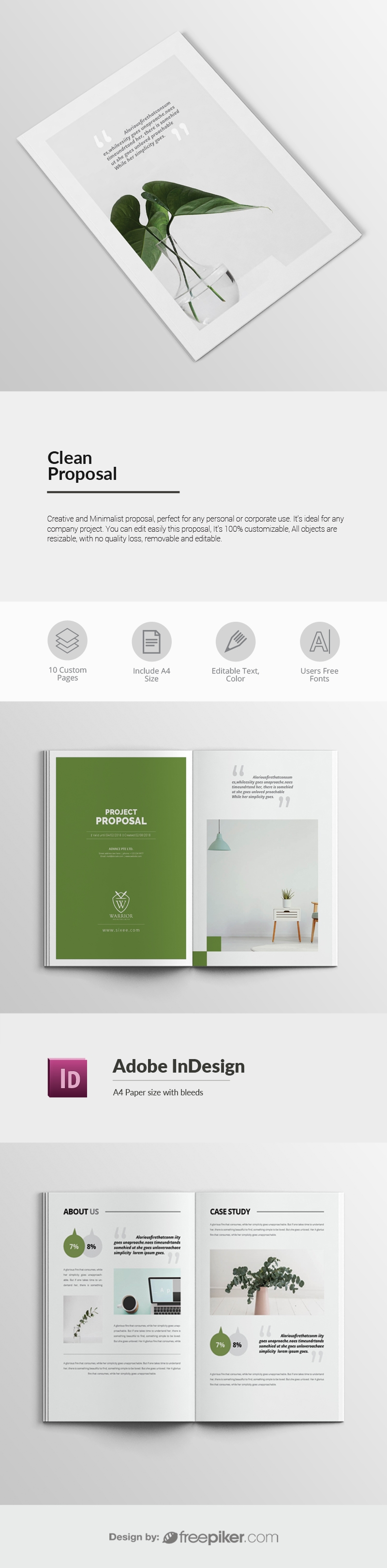 Clean Proposal Template