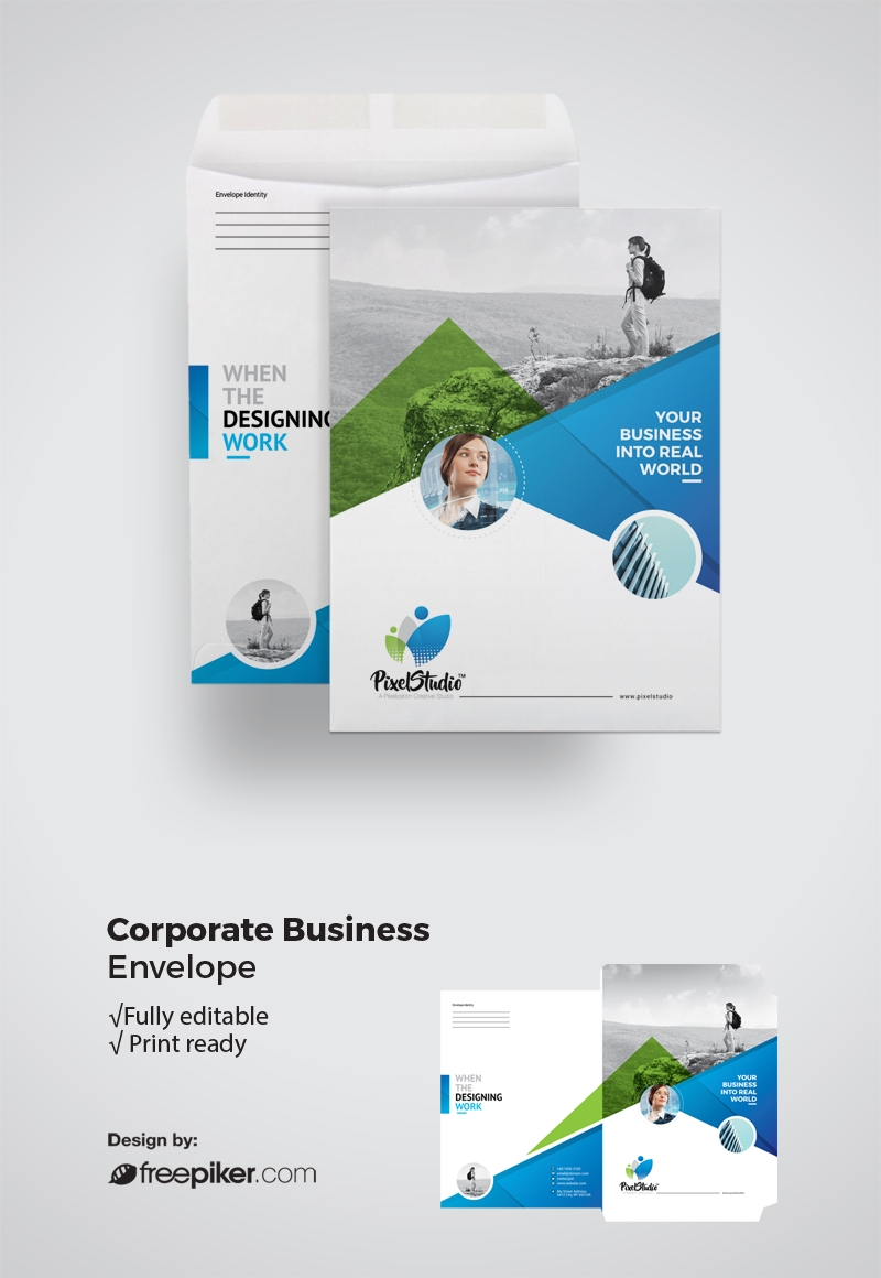 Corporate Business Catalog Size With Color