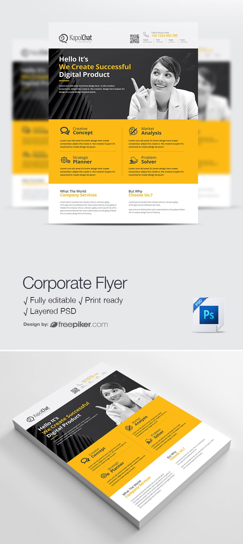 Corporate Business Flyers Design