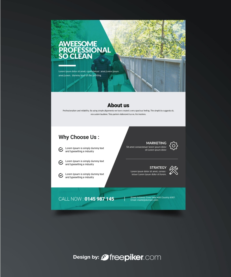 Corporate Business Paste Flyer