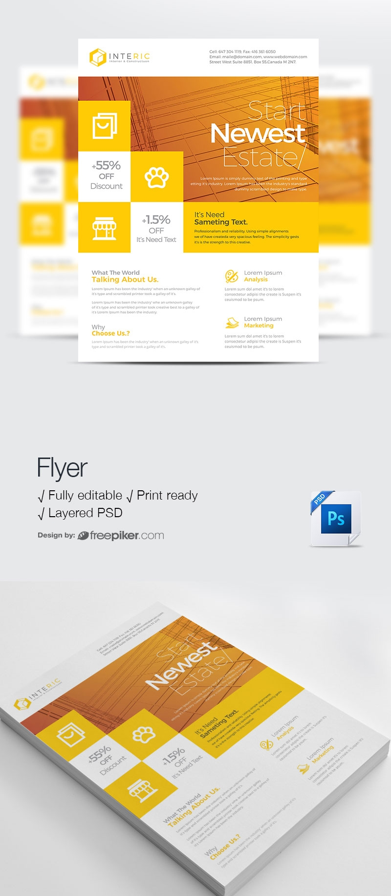Corporate Colorfull Business Flyer