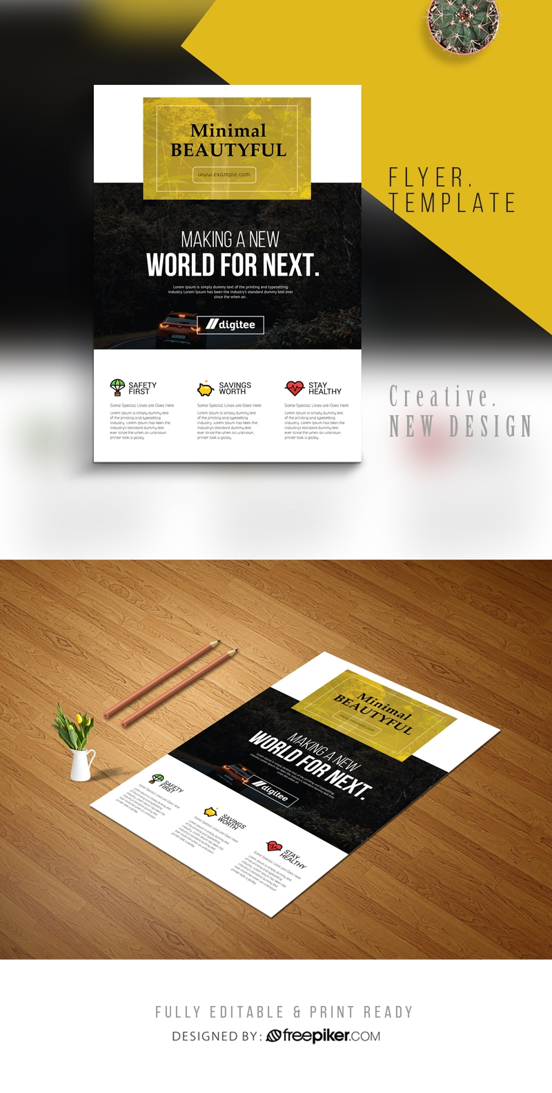 Corporate Forest Flyer Template