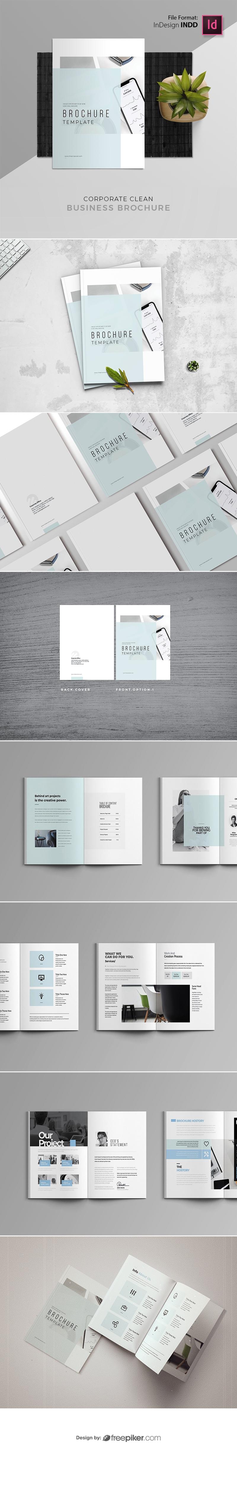 Corporate Minimal Brochure Template