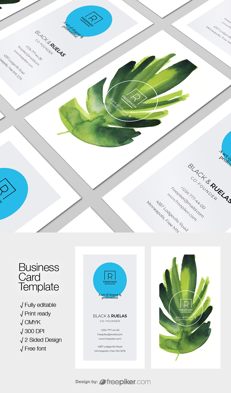 Creative Clean Business Card Template