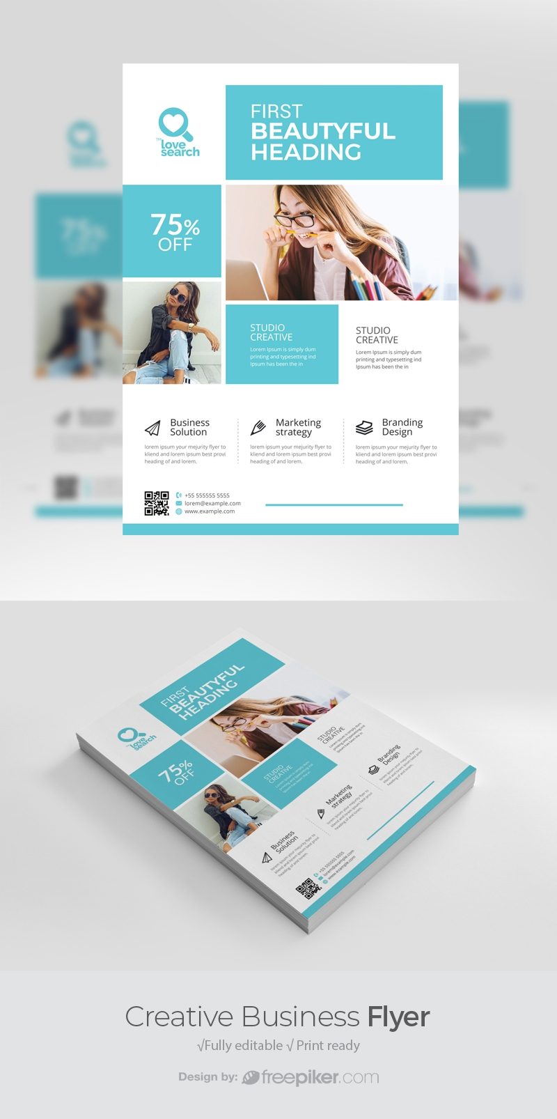 Creative Clean Business Flyer