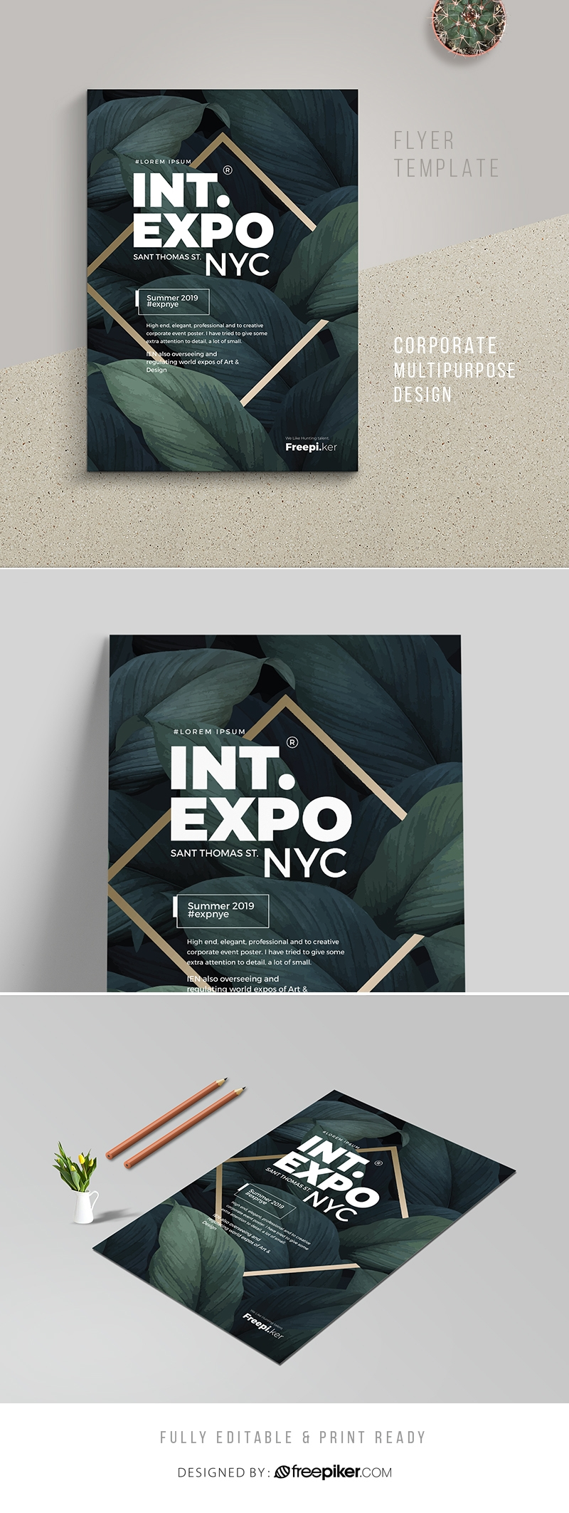 Creative Clean Event Poster Template