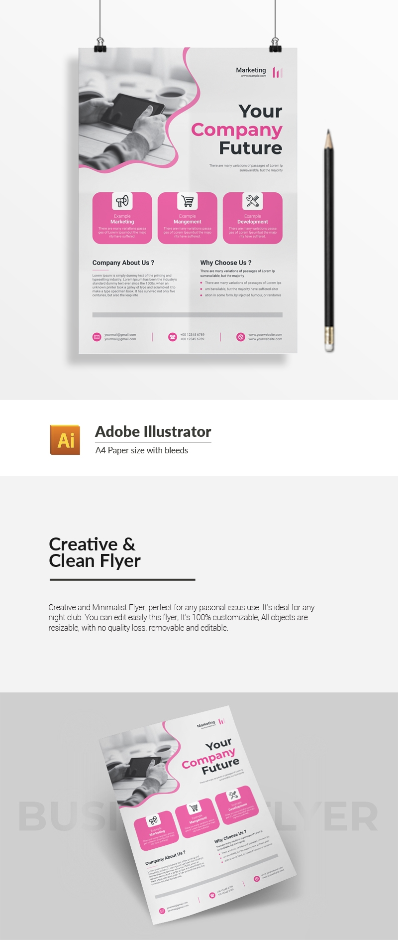 Creative & Clean Flyer