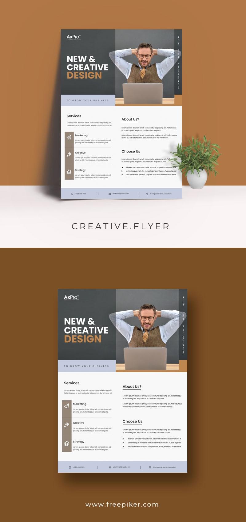 Creative Design Flyer