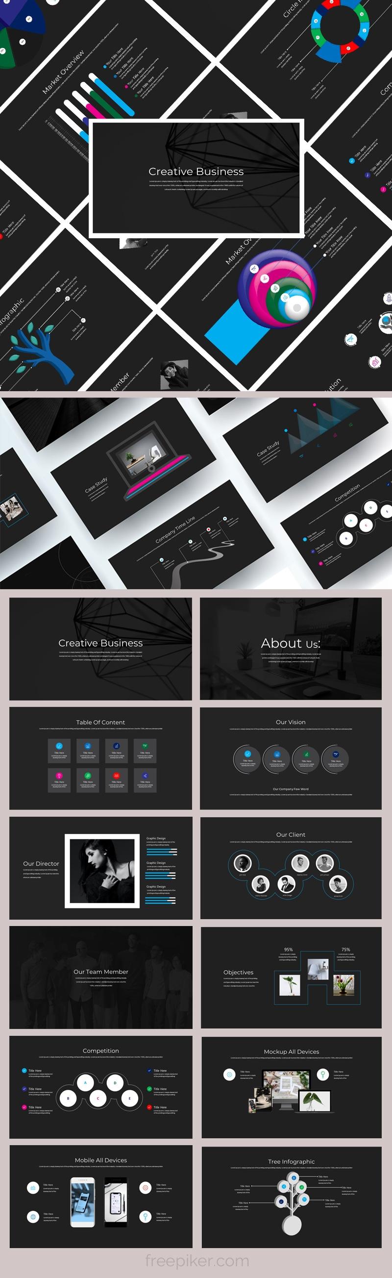 Creative Powerpoint PresentationTemplate