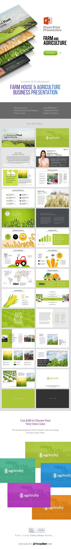 Farm House & Agriculture Powerpoint Presentation