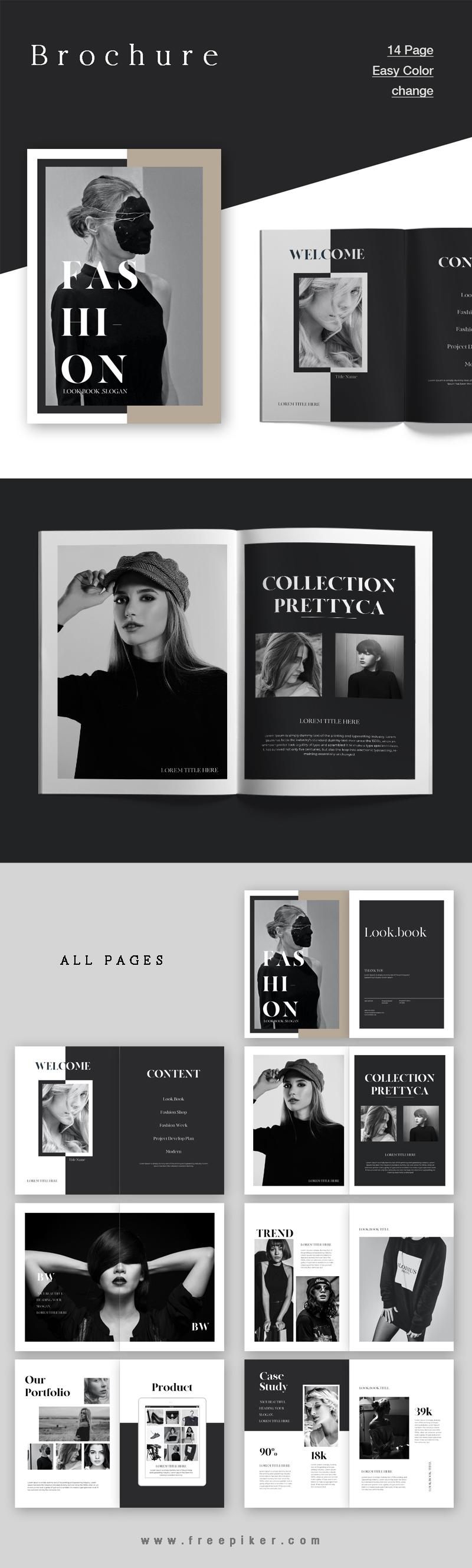 Fashion Lookbook  Brochure