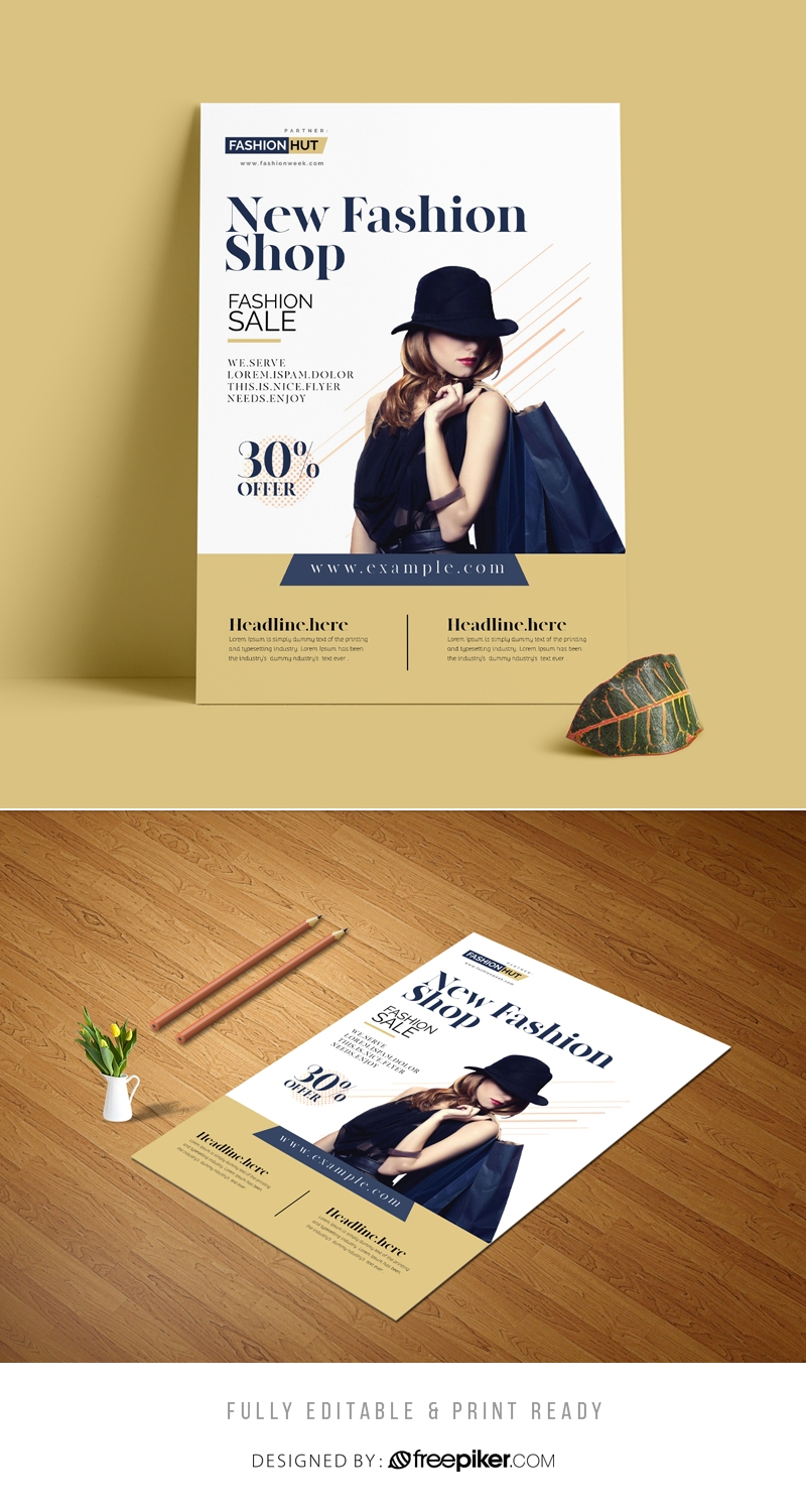 Fashion Shaop Flyer Template