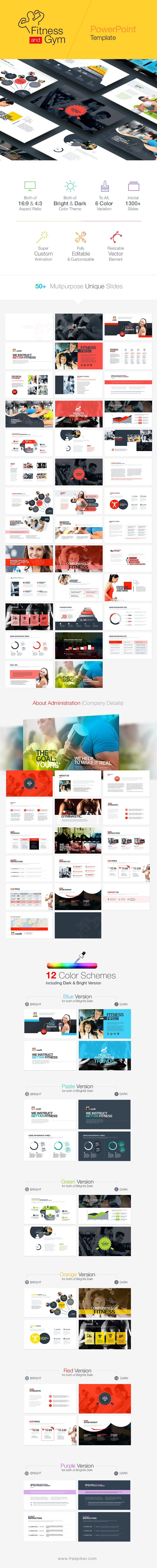Fitness & Gym Powerpoint | WealthFit