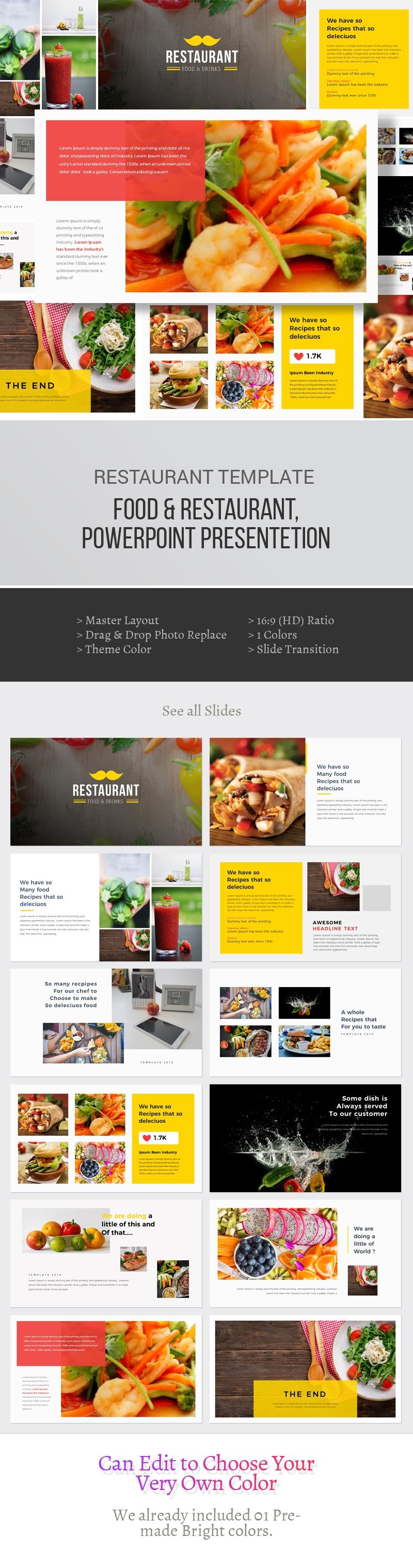 Food & Restaurant Powerpoint Presentation