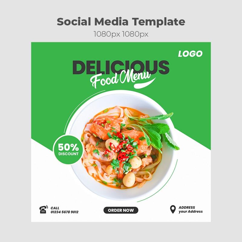 Food Social Media Template