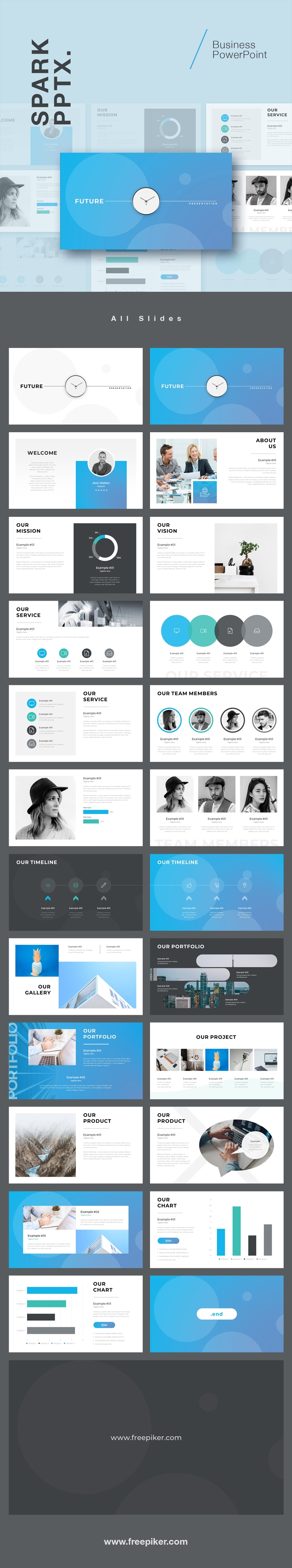 Future Powerpoint Template