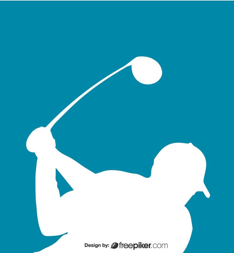 Freepiker Golf Logo Vector Design