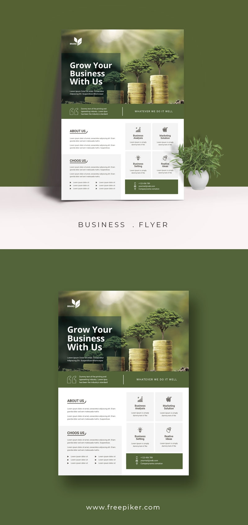 Grow Your Future Business Flyer