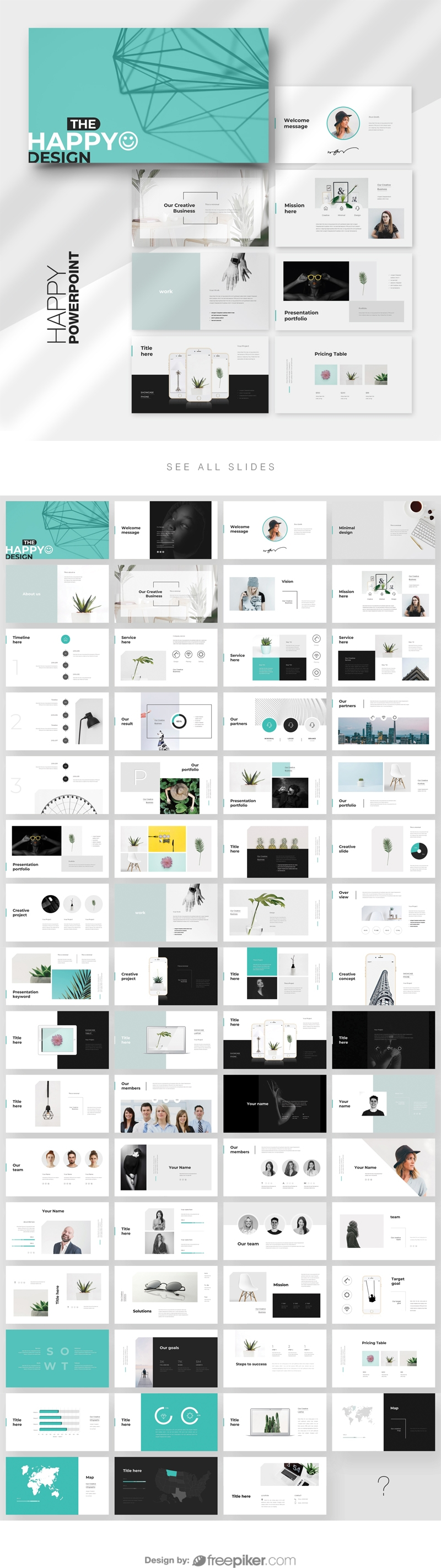 Happy PowerPoint Template