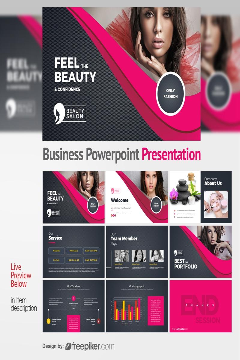 Health & Beauty Powerpoint Presentation