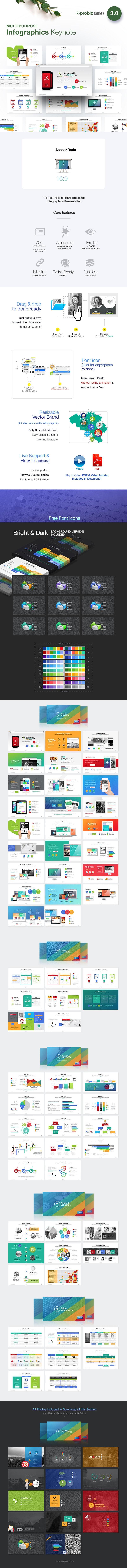 Infographics Keynote | ProBiz 3.0
