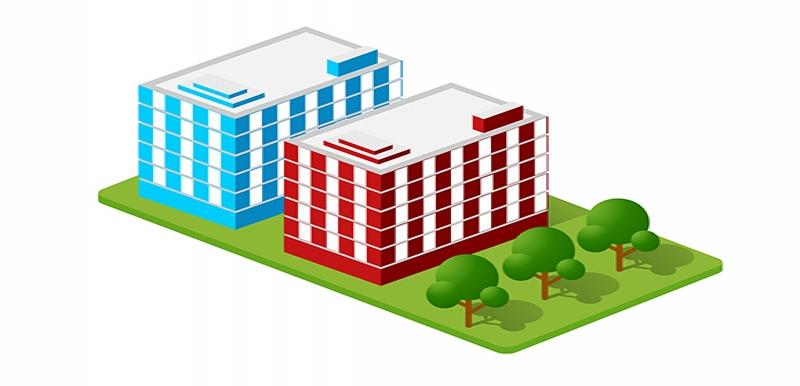 Isometric Houses / Town Houses
