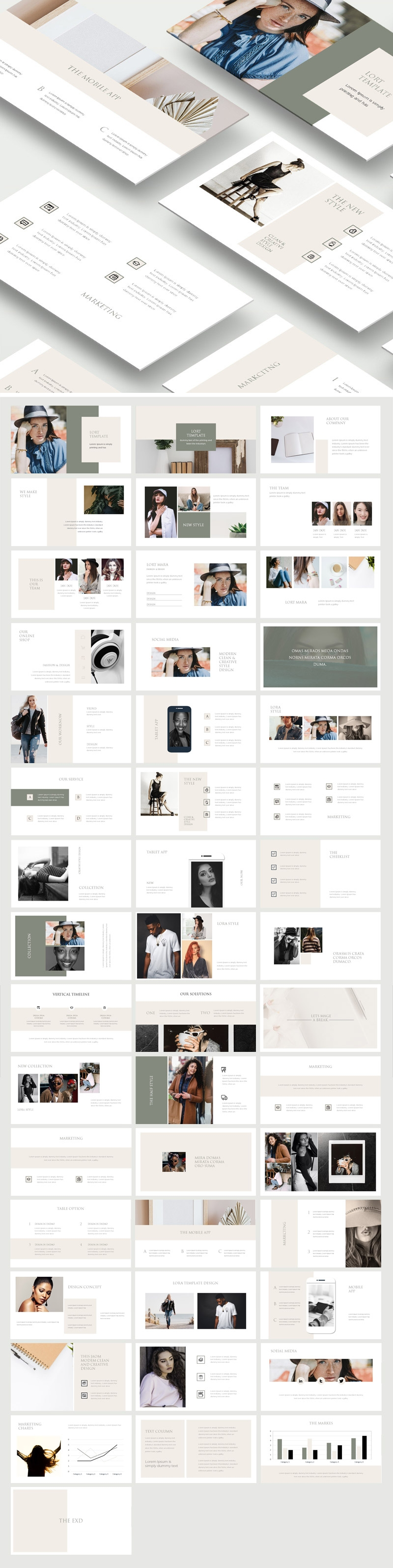 GoldAge Powerpoint Template