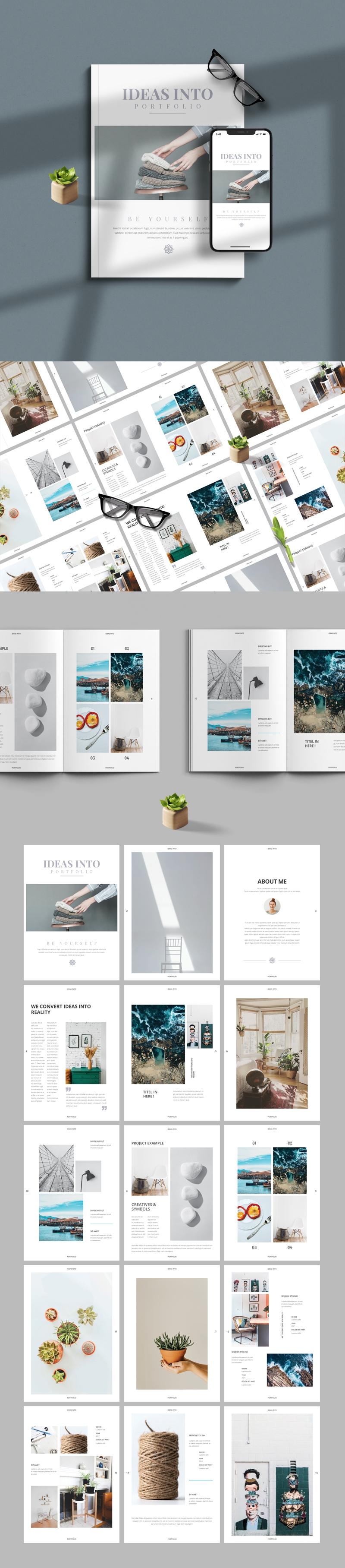 Minimal Creative Portfolio Template