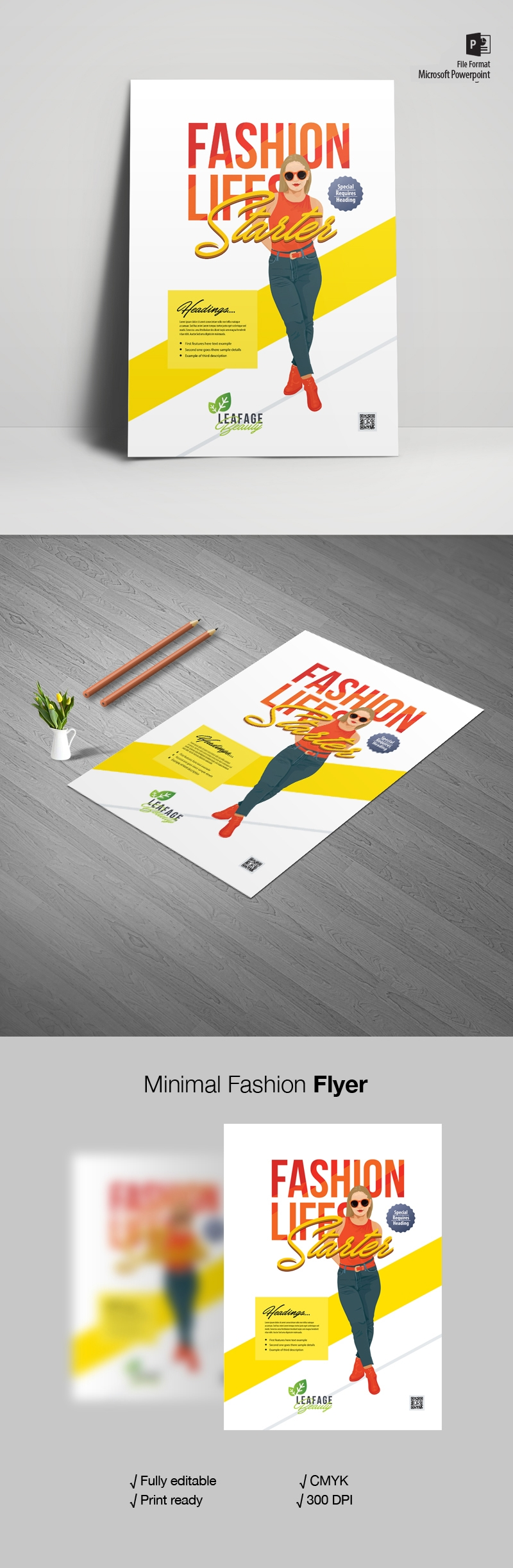 Minimal Fashion Flyer & Poster