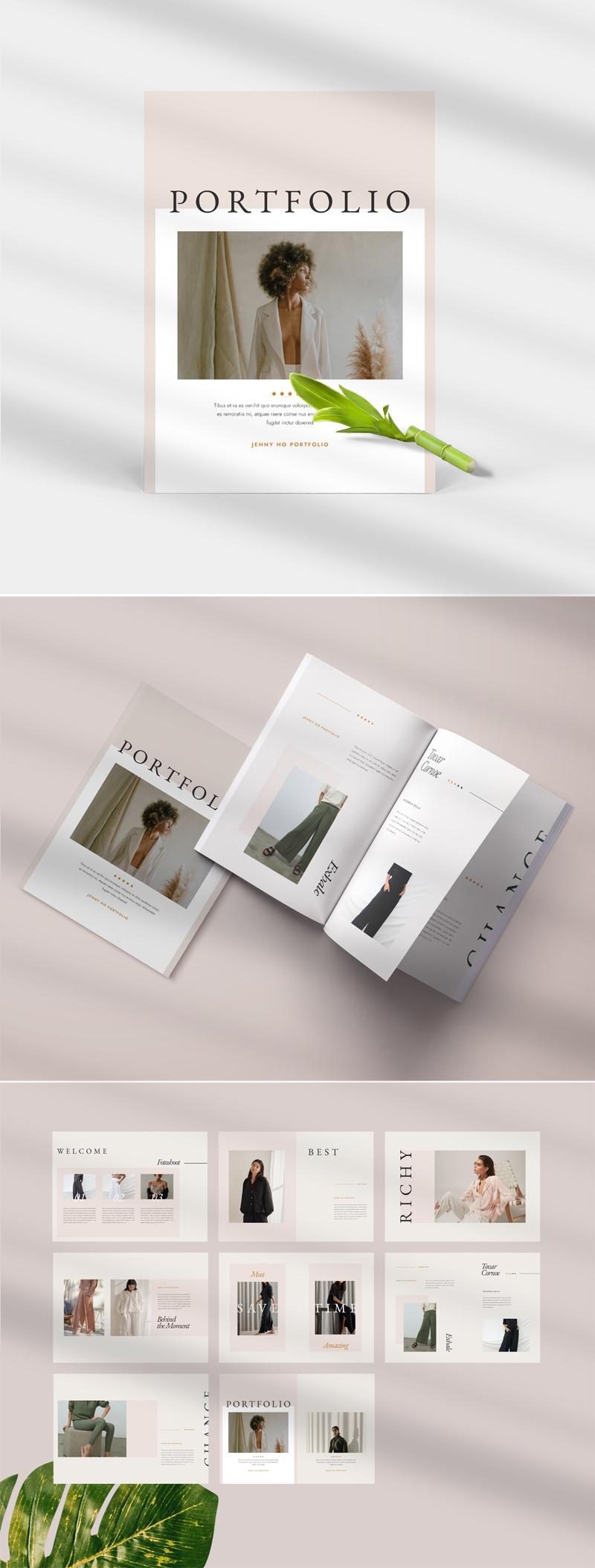 Minimal Fashion Portfolio Template