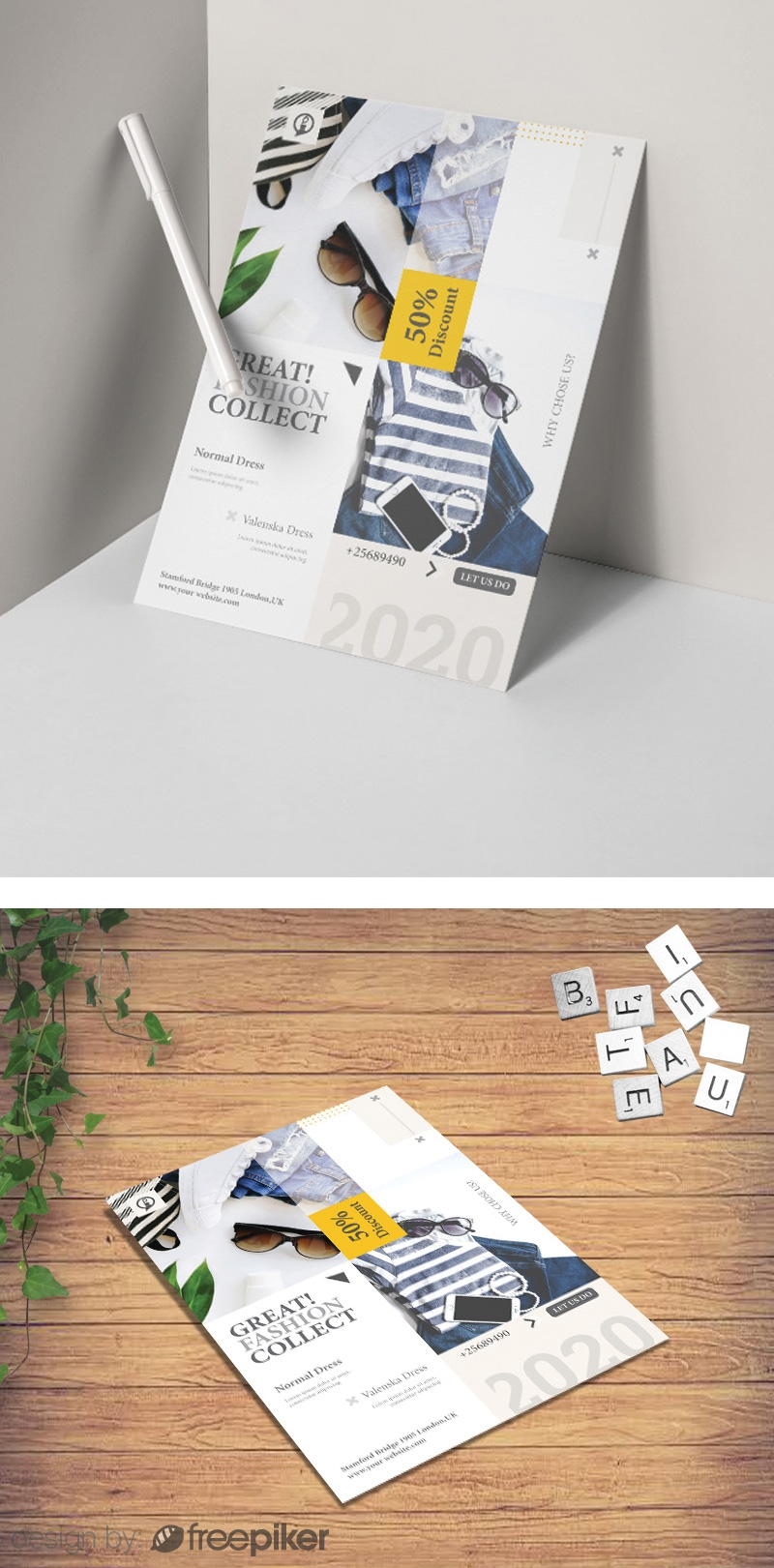 Minimalist Fashion Sale Flyer