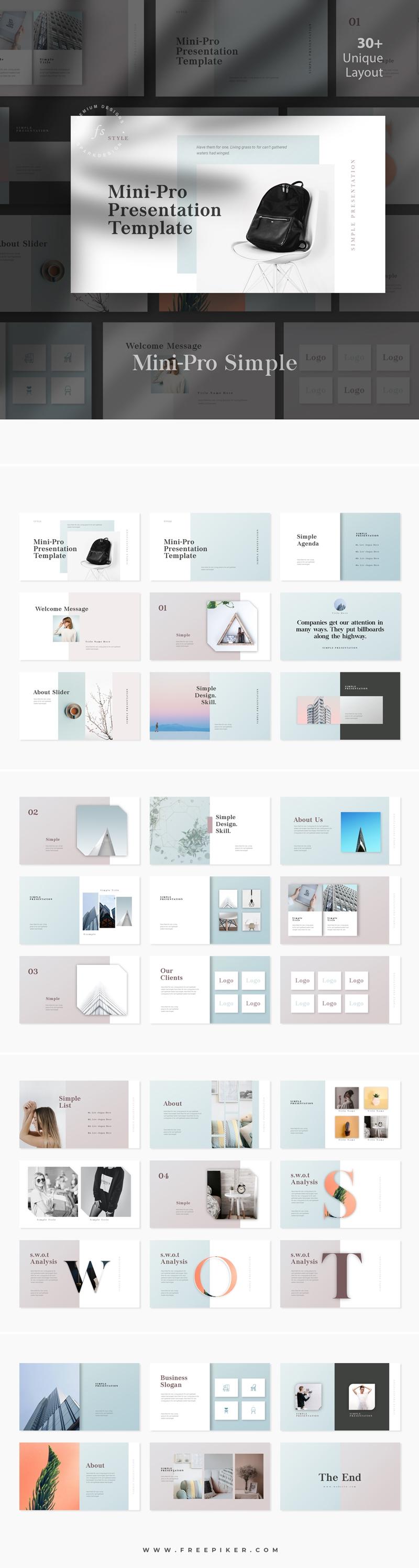 MiniPro Multipurpose PowerPoint Presentation
