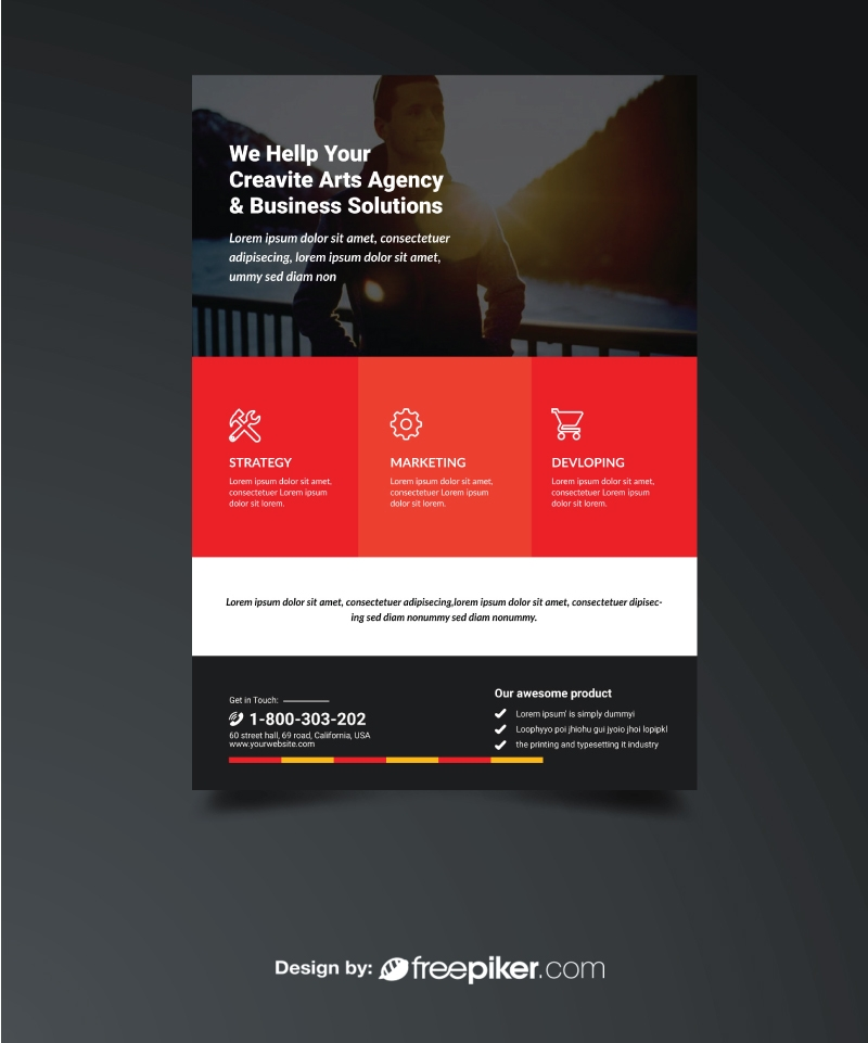Modern Corporate Flyer Template