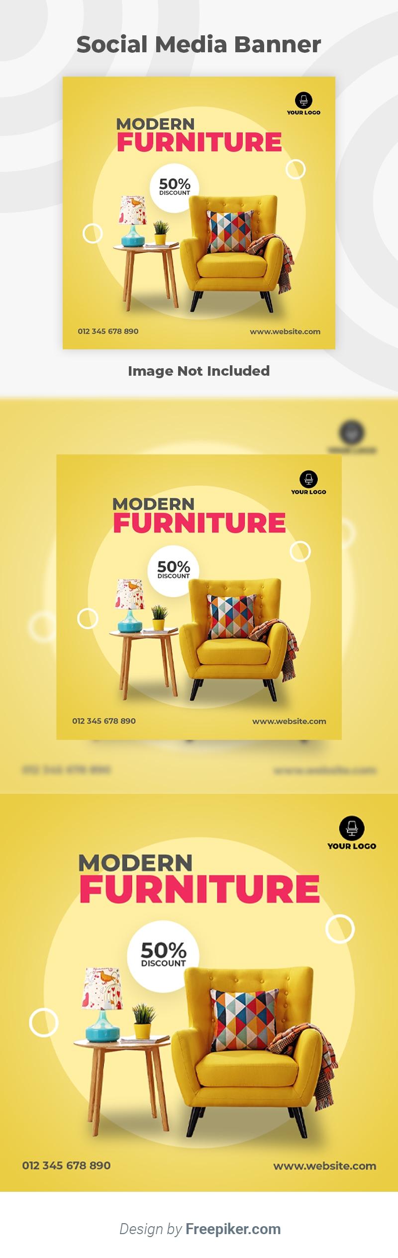 Modern Furniture Social Media Banner