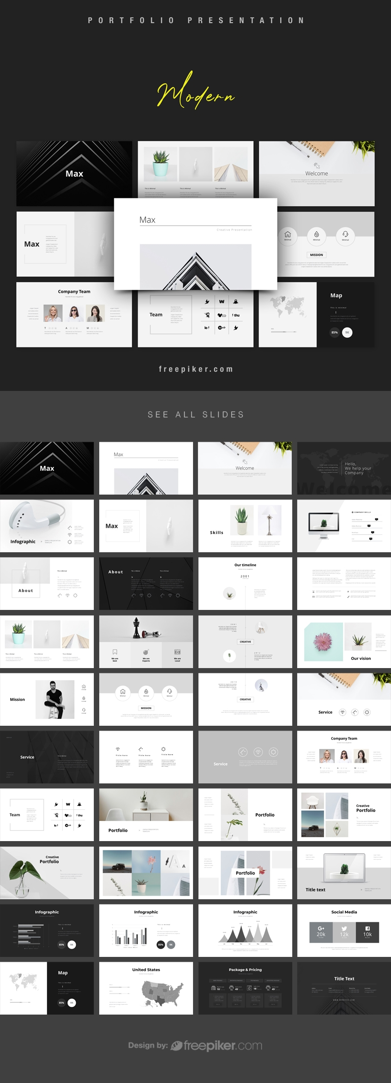 Modern PowerPoint Template