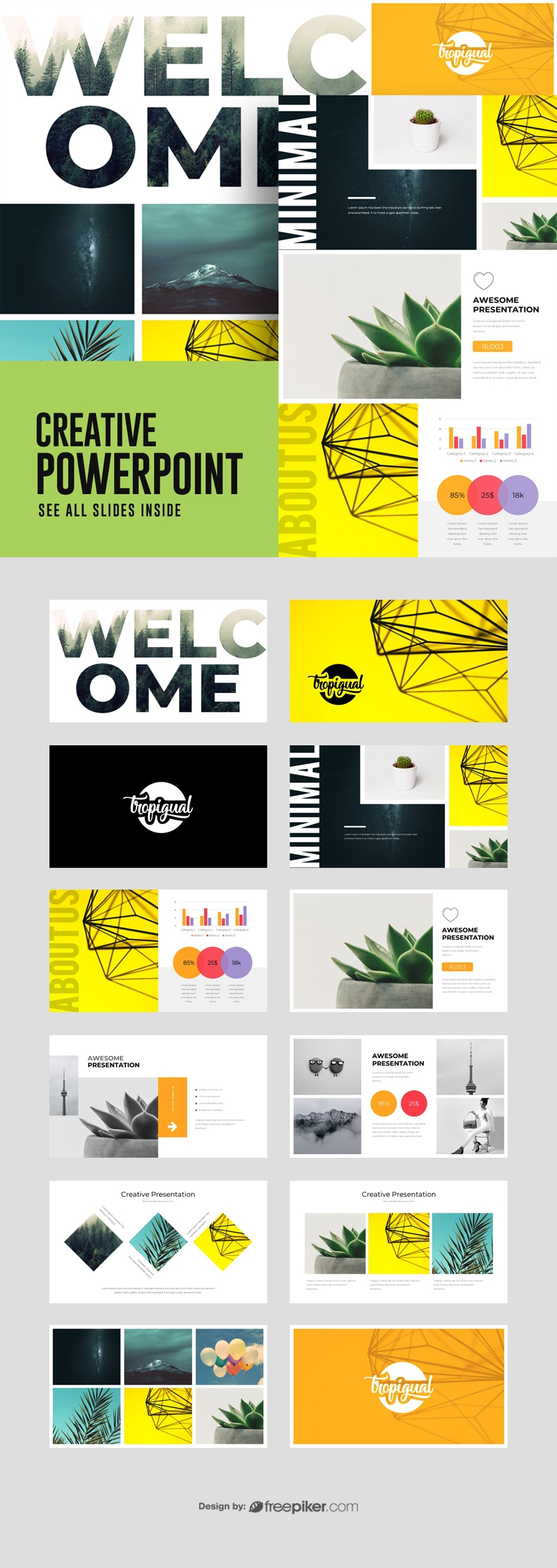 Motagua - Multipurpose PowerPoint Template